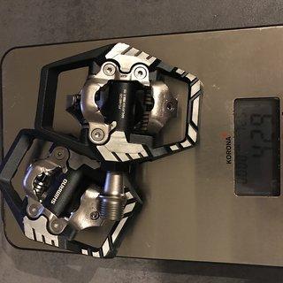 Gewicht Shimano Pedale (Klick) PD-M8120