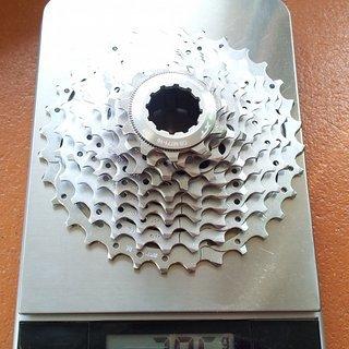 Gewicht Shimano Kassette XT CS-M771   10-fach, 11-32Z