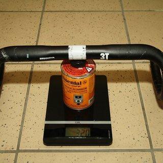 Gewicht 3T Lenker Ergonova 31,8 x 420mm