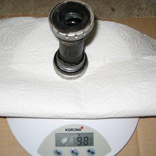 Gewicht Shimano Innenlager Deore SM-BB51 HTII, 68/73mm, BSA