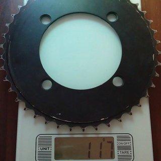 Gewicht Truvativ Kettenblatt Downhill 104mm, 42Z