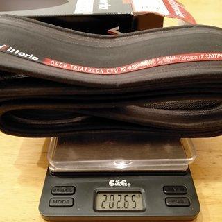 """Gewicht Vittoria S.p.A. Reifen Open Triathlon EVO 28x0,8"""", 22-662"""