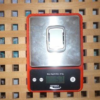 Gewicht Garmin GPS Edge 500