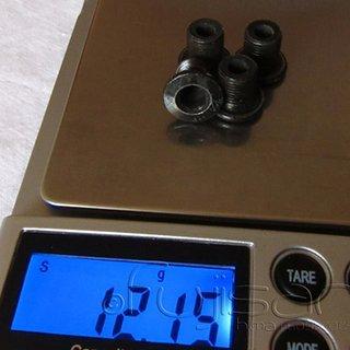 Gewicht No-Name Kettenblattschrauben Kettenblattschrauben M8x10mm, 4x