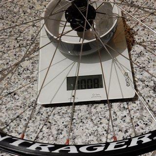 """Gewicht Bontrager Systemlaufräder Race Light HR, 26"""""""