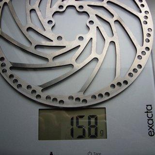 Gewicht Hope Bremsscheibe Fixed Disc M4 180mm