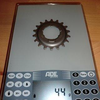 Gewicht SRAM Nabenschaltungen Ritzel 18Z