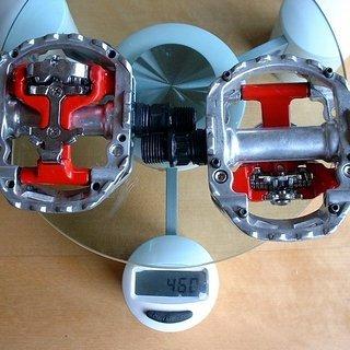 Gewicht Wellgo Pedale (Sonstige) D2 90x80mm