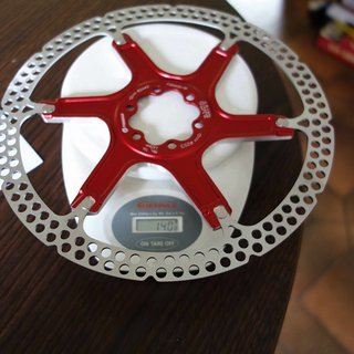 Gewicht Formula Bremsscheibe R1, RX, The One 203mm