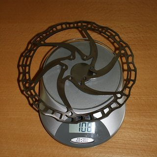 Gewicht Ashima Bremsscheibe ARC-08-185 185 mm