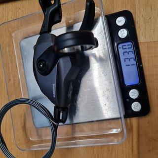 Gewicht Shimano Schalthebel SL-M8100 XT 12-fach inkl. Innenzug