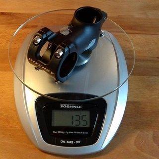 Gewicht Ritchey Vorbau Trail 31.8mm, 60mm, 0°