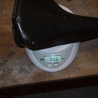 Gewicht Brooks Sattel Flyer
