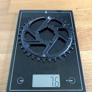 Gewicht SRAM Kettenblatt 34t Eagle direct mount 34