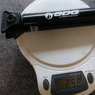 Gewicht SDG Sattelstütze X-Beam Micro Aluminium 31,6 x 400