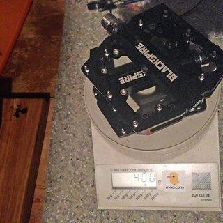 Gewicht Blackspire Pedale (Platform) Sub4