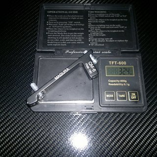 Gewicht Magura Scheibenbremsadapter Adapter QM-6 PM >>> PM +20