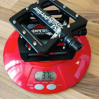 Gewicht Superstar Components Pedale (Platform) CNC Nano Tech Flat Pedal