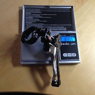 Gewicht Campagnolo Umwerfer Super Record 31.8mm
