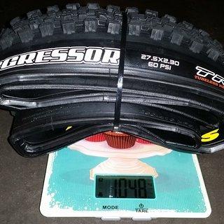 """Gewicht Maxxis Reifen Aggressor 27,5"""" 2,3 DD Dual 27,5"""""""