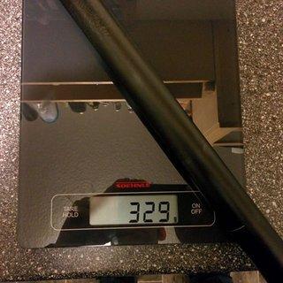 Gewicht Iridium Sattelstütze 3-5 400mm 30,9mm