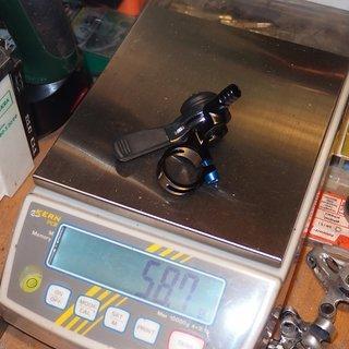 Gewicht MicroShift Schalthebel SL-M10 2/3-fach
