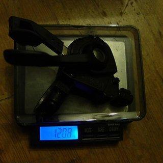 Gewicht Shimano Schalthebel Saint SL-M820-R 10-fach