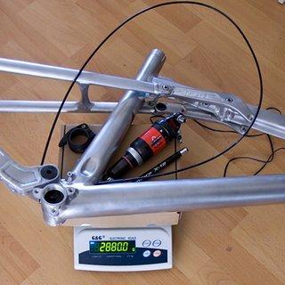 Gewicht Liteville Full-Suspension 301 Mk9 Raw M