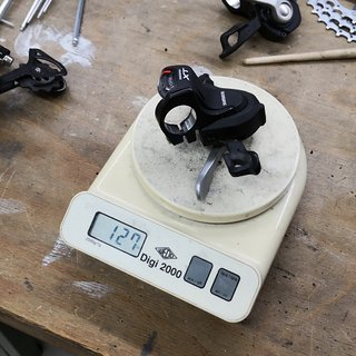 Gewicht Shimano Schalthebel XT SL-T780 10-fach, Rechts