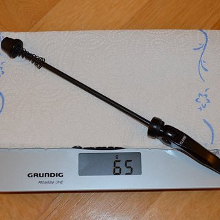 Gewicht Mavic Schnellspanner Schnellspanner BR101 HR