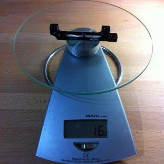 Gewicht KCNC Scheibenbremsadapter X7 PM >>> PM +43