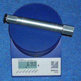 Gewicht Manitou Achse Dorado Pro Hex-Lock 110 x 20mm