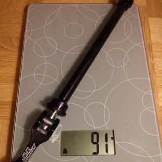Gewicht Fun Works Achse Thru Axle QR Superlight 142 x 12mm