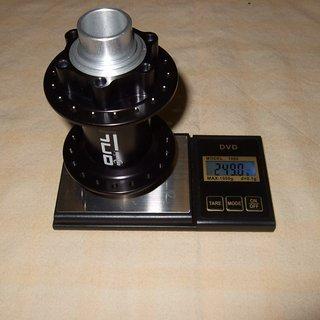 Gewicht DT Swiss Nabe Onyx DH 110mm/20, 36-Loch