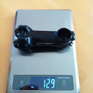 Gewicht Concept Vorbau EX 31,8mm, 90mm, 6°