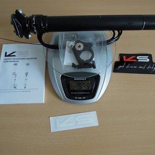 Gewicht Kind Shock Sattelstütze höhenverstellbar LEV 30,9 x 435mm