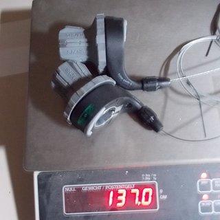 Gewicht Sachs Drehschaltgriff Quarz D.I.R.T. 3x9-fach