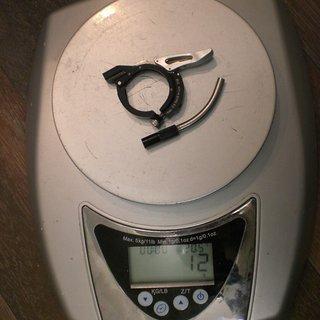 Gewicht DT Swiss Remote-/Lockout-Hebel Remote Lock Out Kit Single Shot