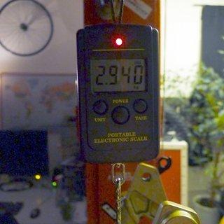 Gewicht Mondraker Full-Suspension Dune XR L
