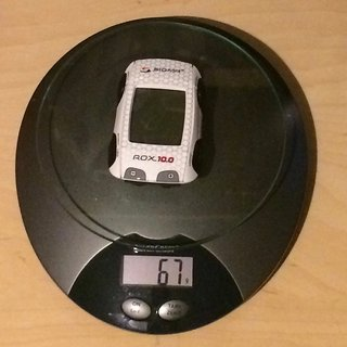 Gewicht Sigma GPS ROX 10.0 GPS