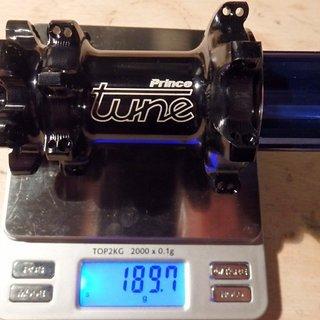 Gewicht Tune Nabe Prince Straight 135mm/QR, 28-Loch