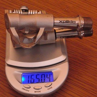 Gewicht Xpedo Pedale (Klick) XRF06TT