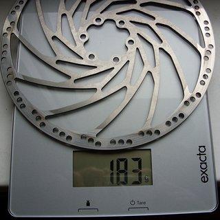 Gewicht Hope Bremsscheibe Fixed Disc M4 200mm