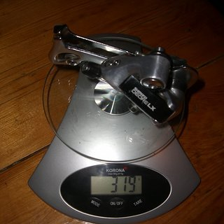 Gewicht Shimano Schaltwerk LX RD-M550 SGS Long Cage