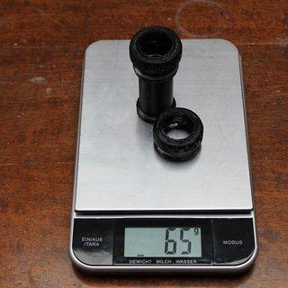 Gewicht Shimano Innenlager XTR SM-BB93 HTII, 68/73mm, BSA