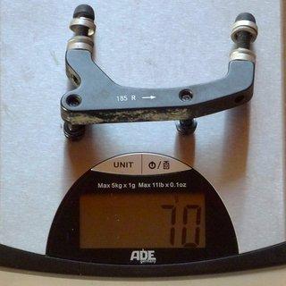 Gewicht Avid Scheibenbremsadapter Adapter IS >>> PM +45