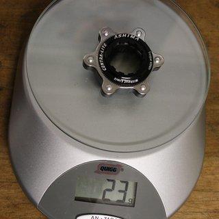 Gewicht Ashima Scheibenbremsadapter Centra-Lite CL >>> 6-loch