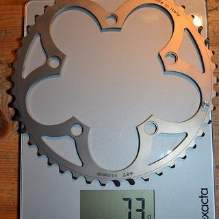 Gewicht Carbon Ti Kettenblatt X-Ring Full Ti 46 x 110