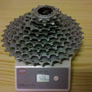Gewicht SRAM Kassette PG-970 9-fach, 11-34Z