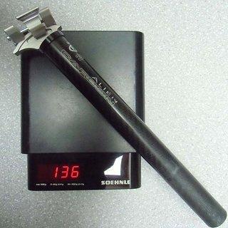 Gewicht USE Sattelstütze Alien Carbon 27,2 x 290mm